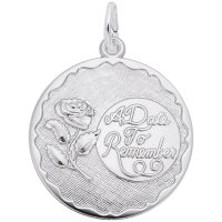 A Date to Remember with Rose Disc Charm